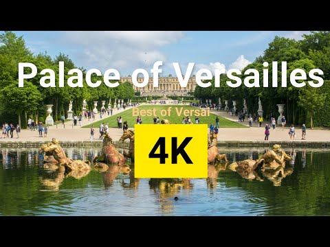 Palace of Versailles in 4K | Top Best Places to Visit in Palace of Versailles, France