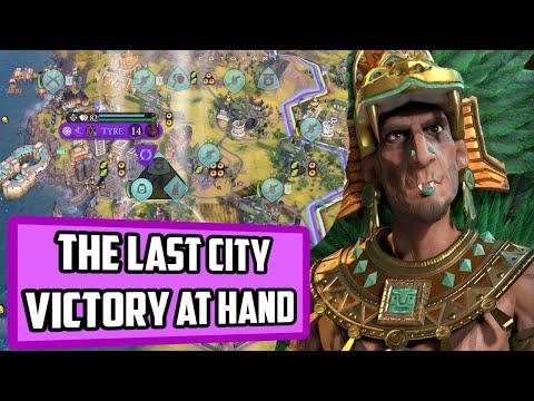 I wish winning the game was always this easy! - Civ 6 Deity Aztec Vampires Ep. 6 |