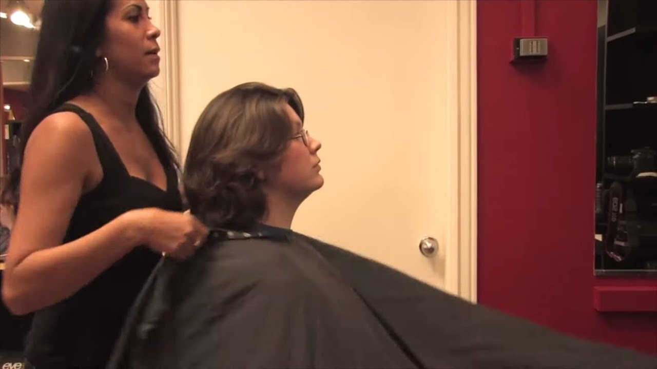Satin Az Pt 2 No More Thick Hair Time For Pixie Cut Free