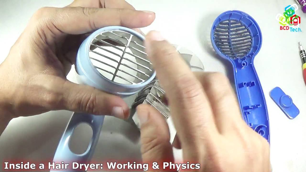 Hair Dryer Inside ~ What inside a hair dryer working princple of philips