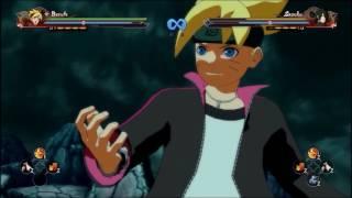 Naruto Shippuden Ultimate Ninja Storm 4 Boruto Scientific Tool Vs Sasuke Road to Boruto Gameplay