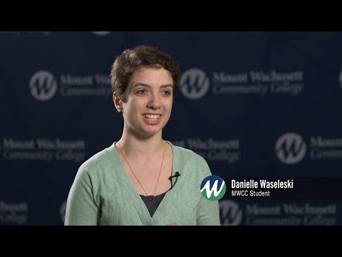 Danielle's Story | Work-Study at Mount Wachusett Community College