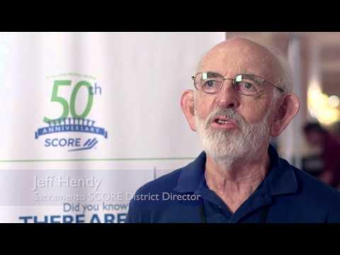 Why I Volunteer with SCORE - Jeff Hendy - Sacramento