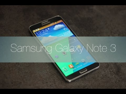 Samsung Galaxy Note 3, Review en Español