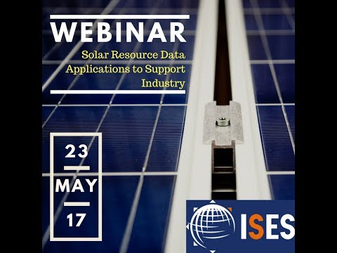 Webinar: Solar Resource Data Applications to Support Industry