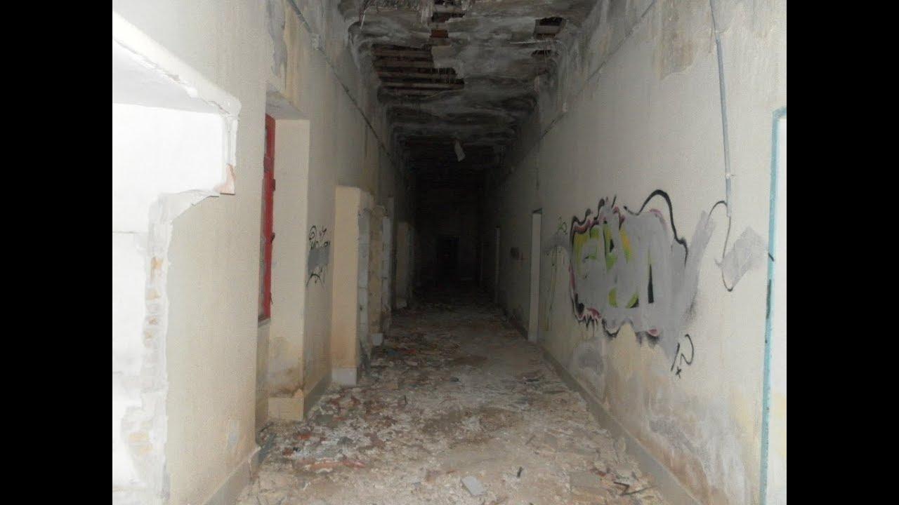 Sanatorio Sierra Espuña. Solo y de noche (4) - YouTube
