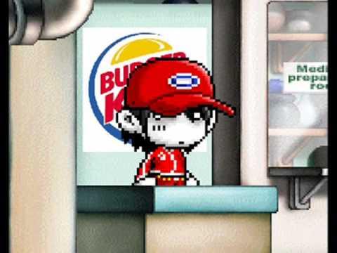 [MapleStory] Dane Cook - Burger King
