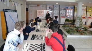 Урок в шахматной школе. Тема: