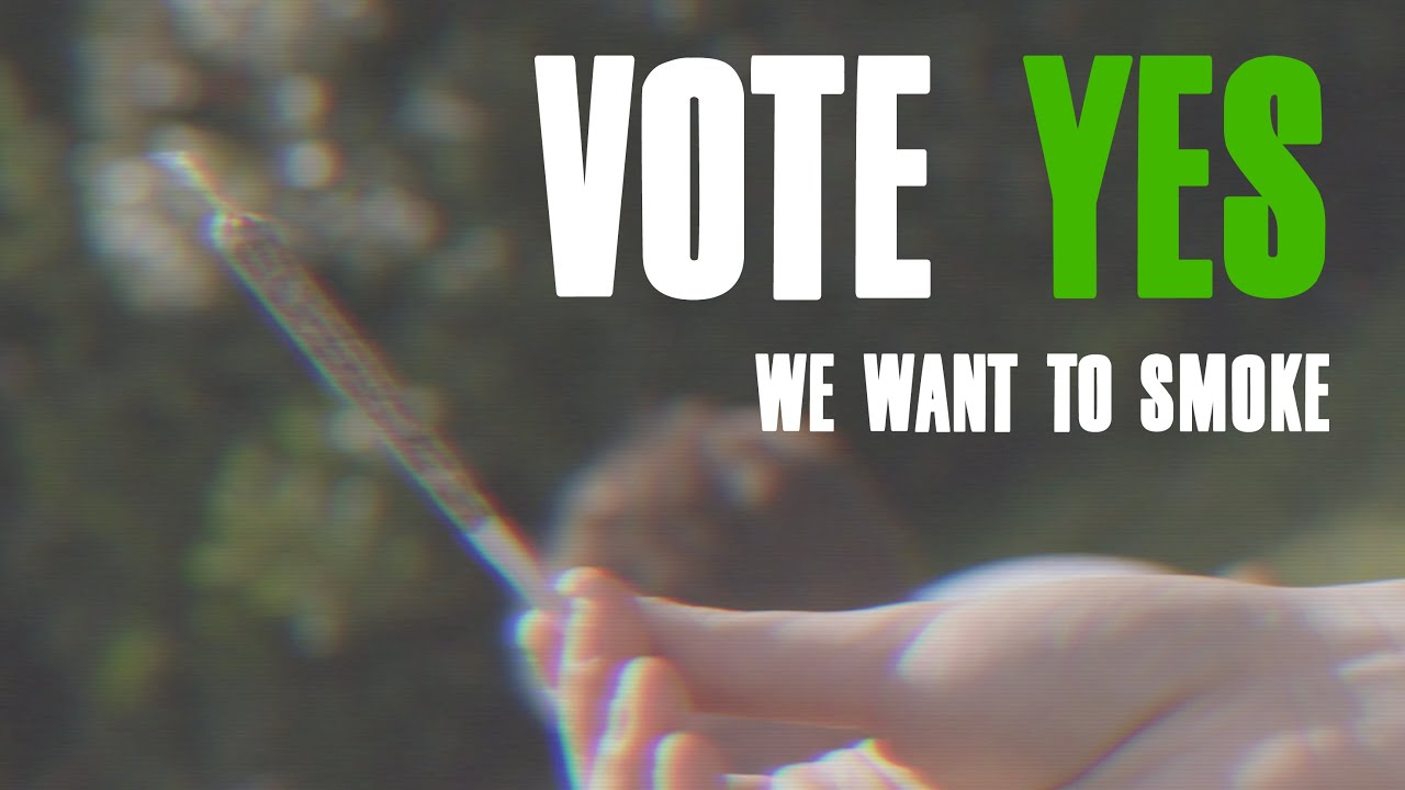 We Want To Smoke (Vote Yes) - Official Music Video