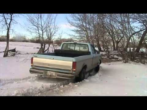 Perils of 2wd In Montana during the winter!