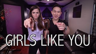 Download Lagu Girls Like You - Maroon 5 ft. Cardi B (Jason Chen x Tiffany Alvord) Mp3
