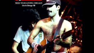 Queen  Chicago, IL 9-19-80  Full Audio Concert
