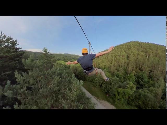 ESTIULA Aventura, el parc d'Aventura amb la tirolina més gran de Catalunya