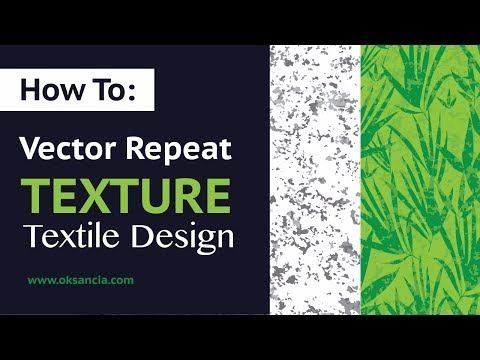 Tutorial: How to create vector repeat marble texture in Adobe Illustrator. Textile Design