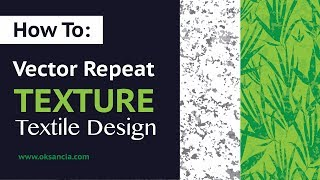 Tutorial: How to create vector repeat marble texture in Adobe Illustrator. Textile Design