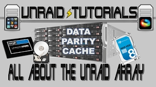 All about the unRAID Array, how data is written and how the parity works