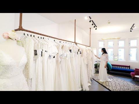 Heart Aflutter's bespoke bridal studio