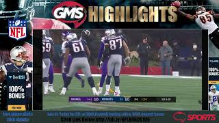 N-F-L Week 13 Complete HD Highlights - Minnesota Vikings vs New England Patriots