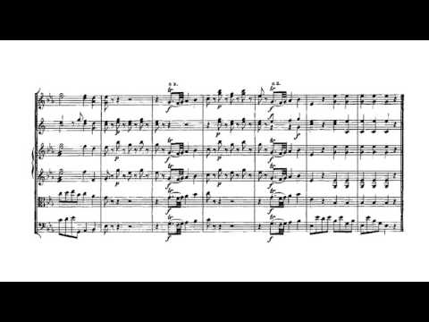 Mozart symphony 1 score