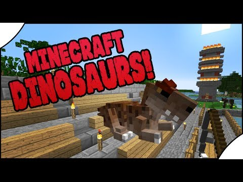 Minecraft Dinosaurs! || 476 || Dino On The Move