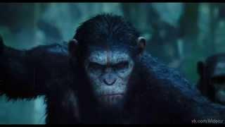 Рассвет планеты обезьян 2014 НОВИНКА!!!