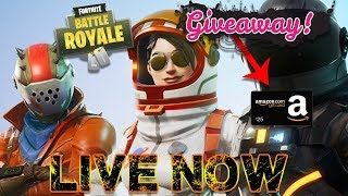Fortnite Battle Royale - Console Player - Playing Solos - Xbox one- Amazon Gift Card Giveaway!