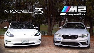 Tesla Model 3 vs BMW M2 Competition // The $60,000 Question