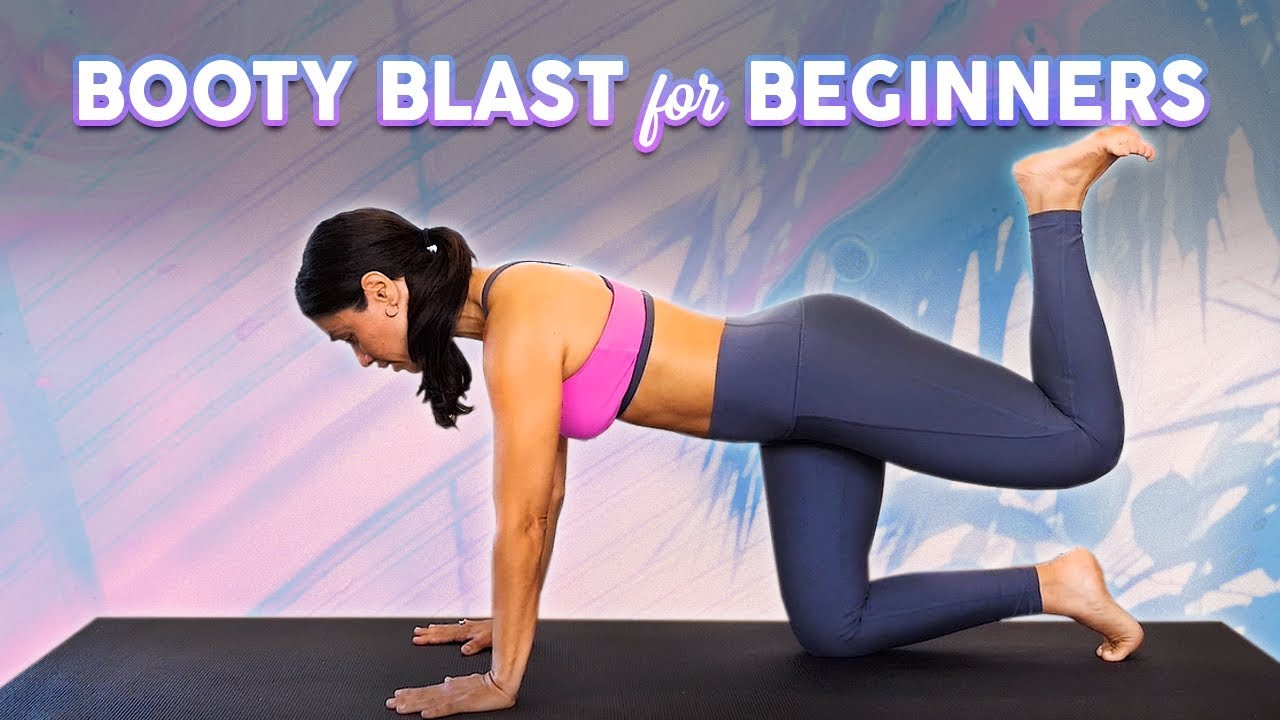 Butt Lift & Sculpt Workout! 360 Degree Sculpting for Glutes, Legs & Thighs, Beginners   Eliz