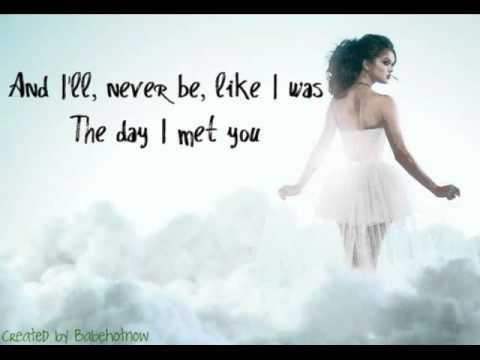 Selena Gomez & The Scene - Ghost of You (Lyrics on Screen + No Pitch Change)