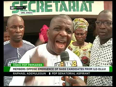Ondo PDP members oppose imposition of NAA candidates from Ile-Oluji