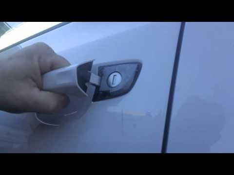 VW keyless entry manual lock, unlock and start