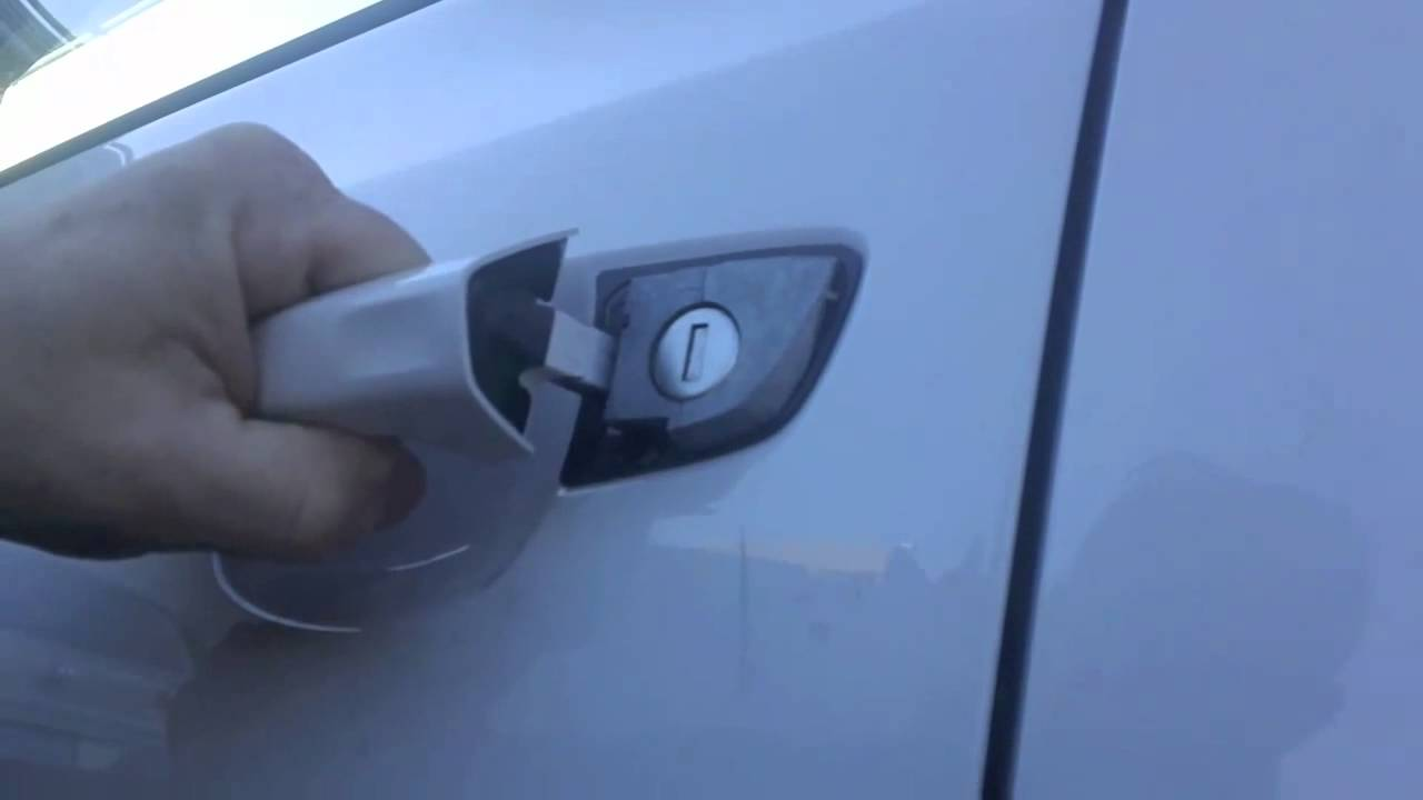 Vw Keyless Entry Manual Lock Unlock And Start Youtube