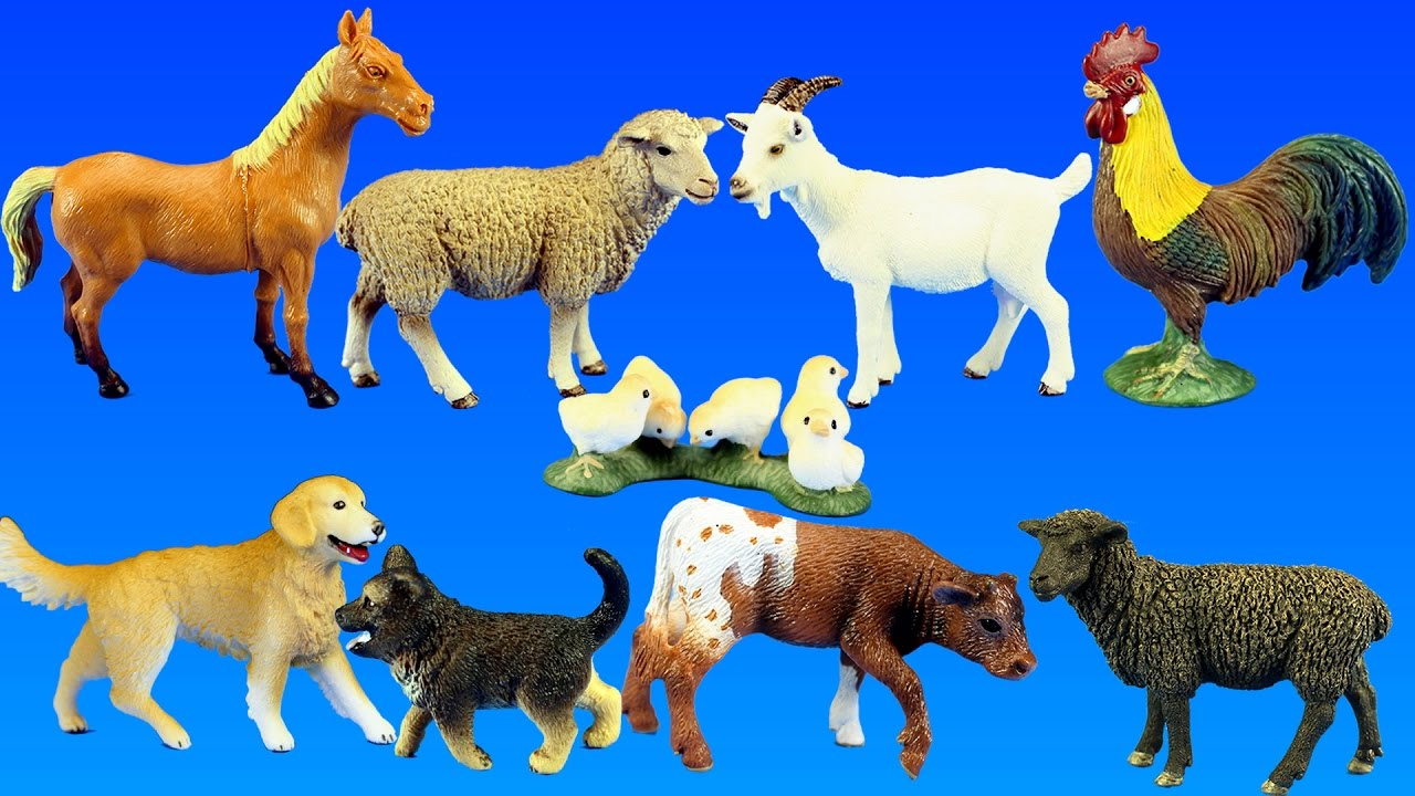 Country Barn Farm Animals with Schleich Animal Toys ...