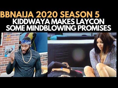 BBNAIJA 2020: KIDDWAYA PROMISES LAYCON, VEE, TRICKYTEE TO SHOOT A MUSIC VIDEO | SATURDAY NIGHT PARTY