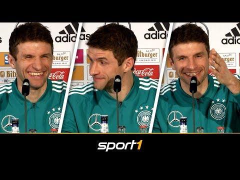 Weltmeisterliche Sprüche! Thomas Müller in Bestform   SPORT1