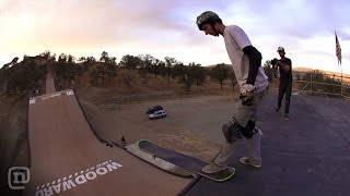 Finally! Mega Ramp Snowboard & Skateboard In One!: Ett