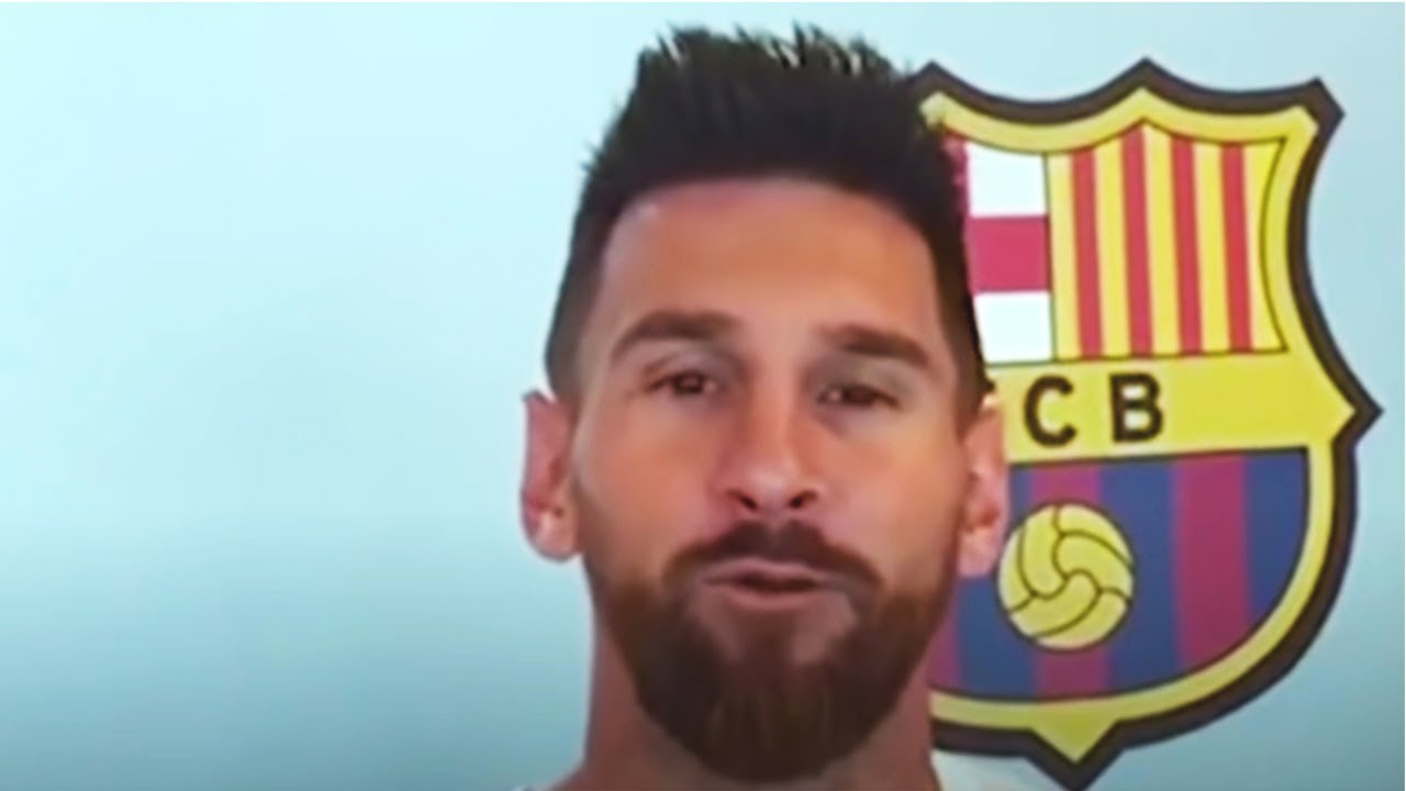MESSI SPEAKs to BARCELONA FANS! This was SURPRISING! Messi about leaving Barcelona and unity