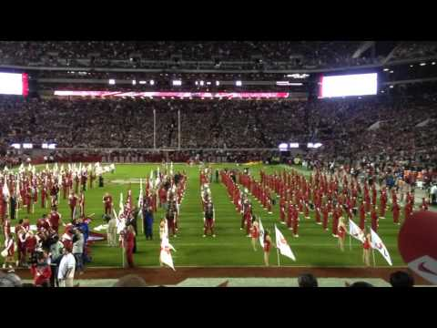 The Kenny Stabler Tribute From Pregame Alabama vs LSU 2015