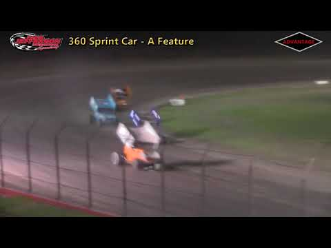 MSTS/Neb. 360 Sprint Feature - Park Jefferson Speedway - 4/28/18
