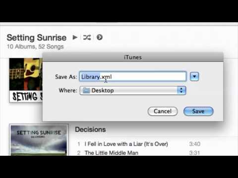 Editing the iTunes XML File : Audio & Video Files