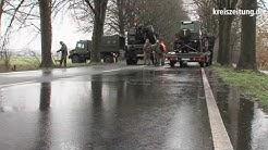 Unfall auf der B75 bei Rotenburg: Soldat schwer verletzt