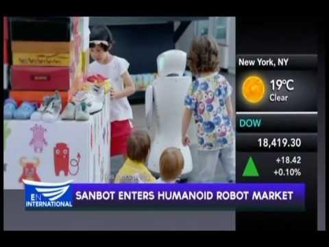 SANBOT ENTERS HUMANOID ROBOT MARKET