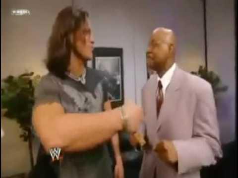 WWE Smackdown July3,09 John Morrison and Teddy Long singing MJ songs