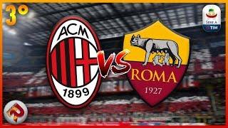Milan - ROMA | Diretta LIVE (Serie A) 2018/2019