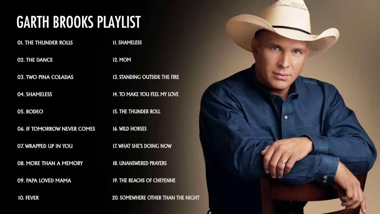 Garth Brooks Greatest Hits Full Album Best Songs Of Garth Brooks