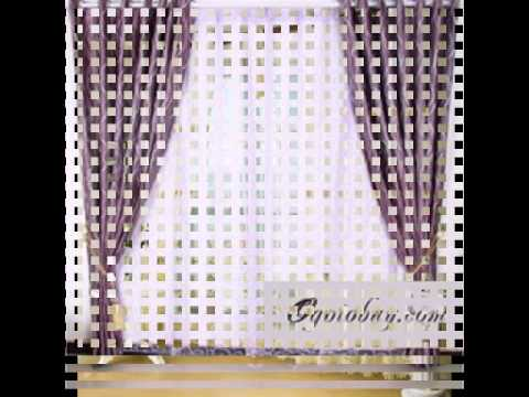 White curtains and discount curtain fabric from http://www.ogotobuy.com