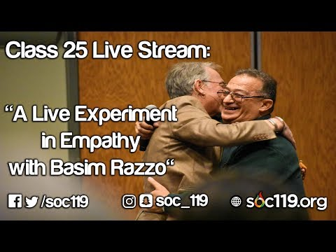 A Live Experiment in Empathy with Basim Razzo