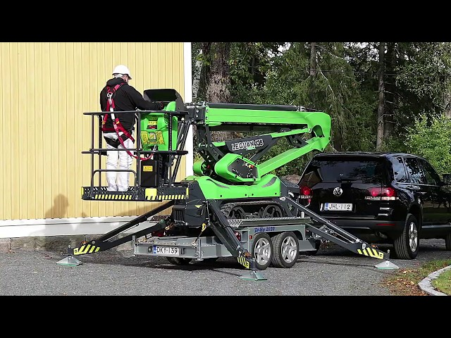 Leguan 135 NEO trailer - Transport your spider lift easily with a Leguan trailer