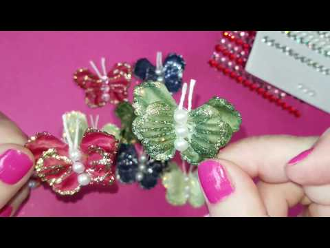 Making Butterfly Embellishments