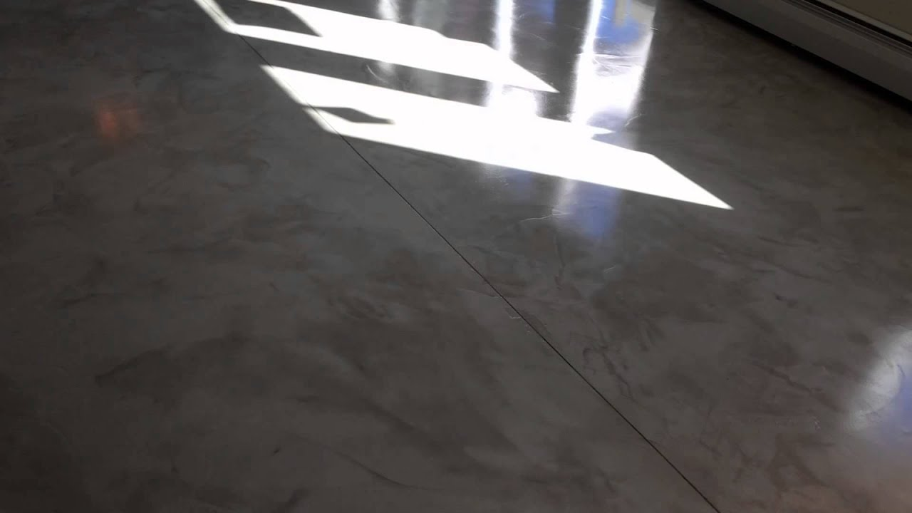 Ecs milford ct 39 venetian plaster 39 floor coating youtube for Milford flooring
